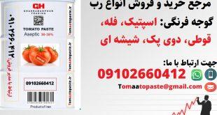 خرید رب گوجه فرنگی ارزان